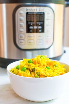 Curry-Gemüse-Reis aus dem Instant Pot Curry vegetable rice from the instant pot - coffee & cupcakes Quinoa Recipes Healthy Vegetarian, Quinoa Salad Recipes Cold, Rice Recipes For Dinner, Baby Food Recipes, Instant Pot Baby Food, Vegetable Rice, Cupcakes, Curry Rice, Glutenfree