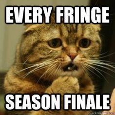 Fringe TV series humour