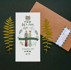 Forest invitation | Mino Paper Sweets
