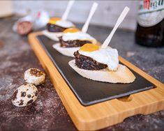 Visit our DELI to see our range of Artisan Pestos & Sauces www.pintxotapas.com/deli Black Pudding, Spice Mixes, Deli, Sauces, Artisan, Range, Desserts, Food, Spice Blends