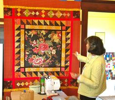 nifty quilts: Gwen Marston on Lopez Island
