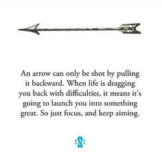 We love this one from @secrets2success - just focus and keep aiming!  Double tap if you agree! by foundrmagazine