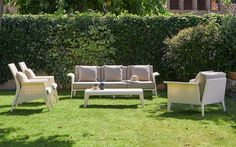 Andalusia Outdoor Wicker Patio Sofas & Lounge Chair Collection