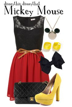 Disney this-Disney that: Mickey mouse inspired outfit...