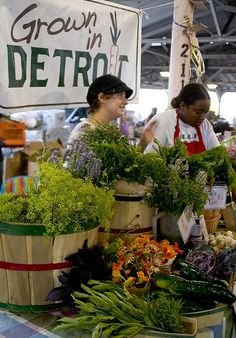 Positive Detroit: MSU Study: Urban Farms Could Provide a Majority of Produce for Detroiters