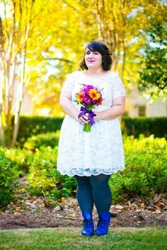 Adrift on a Cloud Dress in Ivory #lace #bride #wedding #marriedinmodcloth