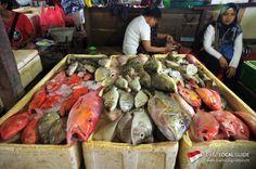 Jimbaran et son fameux marché aux poissons frais!