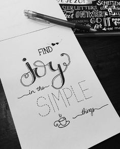58 Ideas Quotes Simple Hand Lettering For 2019 Hand Lettering Quotes, Calligraphy Quotes, Calligraphy Letters, Calligraphy Handwriting, Lettering Ideas, Doodle Lettering, Minimalistic Design, Inspiring Quotes About Life, Inspirational Quotes