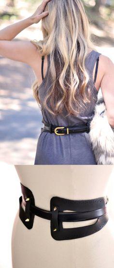 10 Stylish DIY Belts