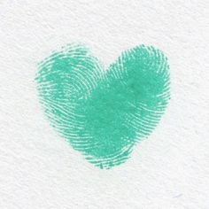 "Thumbprint hearts - use with ""the kissing hand"" craft on the first day of school...after painted handprint is dry, put a thumbprint heart in ghe middle of the palm instead of a heart sticker...makes it even more personal."