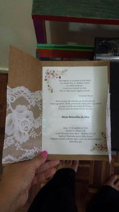 Convite de aniversário.  80 anos. Feito por mim ❤