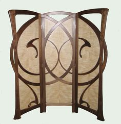 Autumn Wind Art Nouveau Screen