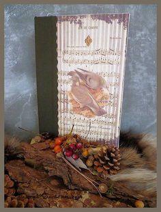 Très chic ce carnet de chasse    CADEAU IDEAL POUR NOEL    Reliure rigide    Recouvert d'un lin imprimé images anciennes    L'intérieur  illustré de t