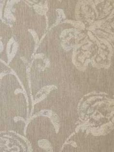 Calvin Fabrics - BALINESE BATIK - RICE FLOWER -  - large scale, multi-tonal beige and cream damask woven in Italy - contract rating WYZENBEEK: 30,000