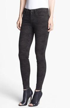 Habitual 'Almas' Camo Print Skinny Stretch Jeans (Nordstrom Exclusive) available at #Nordstrom