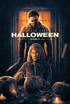 """i want to present a motion art that inspired from """"halloween"""" movie trailer.blink lamp looks like a classis horror movie effect and the shadow from light house make a text """"Halloween"""" , and as we k. Halloween Horror Movies, Scary Movies, Halloween Art, Halloween 2018, Horror Movie Posters, Movie Poster Art, Halloween Michael Myers Movies, Horror Artwork, Classic Horror Movies"""