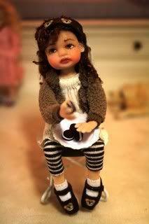 woolytales miniatures | Woolytales Children | dolls...mini's to love | Pinterest