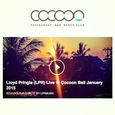 Great new mix recorded poolside at Cocoon !! Head down for 2 for 1 cocktails today between 4pm - 7pm ‪#‎bali‬ ‪#‎sunset‬ https://soundcloud.com/…/lloyd-pringle-lpr-live-cocoon-bali…