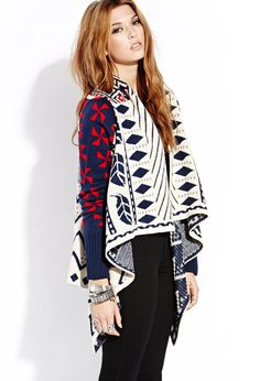 Cozy Time Cardigan | FOREVER21 - 2000125685 #ForeverHoliday @FOREVER™ 21
