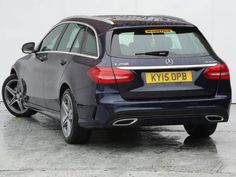 Mercedes-Benz C Class 2.1 C250 BlueTEC AMG Line 5dr Auto Estate Diesel Blue