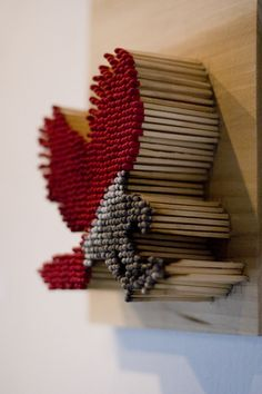 Matchstick art by Pei-San Ng