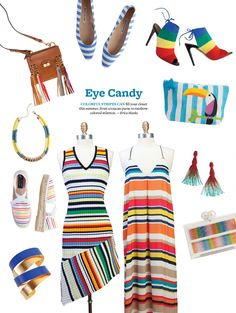 Colorful Summer Stripes Are In Style this Summer