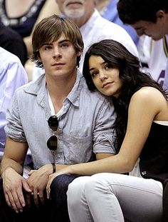 Hollywood Celebrities Zac Efron and Vanessa Anne Hudgens