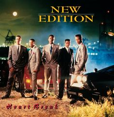 The R group New Edition is from the Roxbury neighborhood of Boston