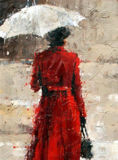 I love the effect here.  The texture is almost like the rain on a window pane between us and the subject.