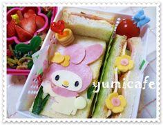 my melody sandwich bento