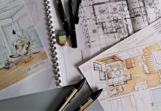 Set of materials for my client (colour sketches by Magdalena Sobula_Pe2)