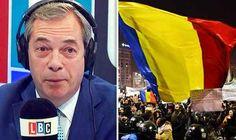 """NIGEL FARAGE """"ROMANIA NU TREBUIA PRIMITĂ ÎN UNIUNEA EUROPEANĂ"""" (VIDEO)"""