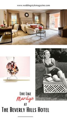 Beverly Hills Hotel, The Beverly, Marilyn Monroe Quotes, Romantic Getaways, New Travel, Staycation, Weekend Getaways, Bungalow, Kids Rugs