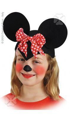 Accessoire de déguisement : coiffe de souris