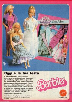 Barbie 'Party Nights' fashion gift set.