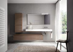 La personalizzazione gioca un ruolo fondamentale: dalla scelta di installazione, con un piano a terra o un mobile bagno sospeso, a quella dei materiali e delle loro finiture.