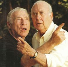 Mel Brooks &Carl Reiner