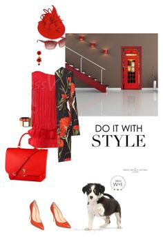 Southern inspiration by pensivepeacock on Polyvore featuring polyvore fashion style Dolce&Gabbana 1Wall Marni Louis Vuitton clothing