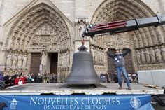Vidéo: Neuf nouvelles cloches pour Notre-Dame de Paris