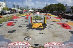 skatepark street art  Based on his 2015 exhibit, Cyclical Nature, Andrew Schoultz has built a permanent public artwork for Juxtapoz and Mana Urban Arts Proje...