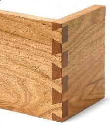 How to lay out dovetails