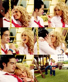 Rebelde - Mia & Miguel  I always wanted a love like theirs ♡ she was like a child and he just wanted to take care of her.