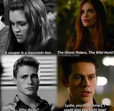 They are made for each other...... Stiles always appreciattes Lydia