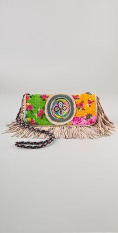 Antik Batik Hida Baguette Bag