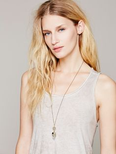 Free People Pyrite Dipped Crystal, $78.00