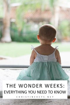 The Wonder Weeks: Everything You Need to Know    Find out what wonder weeks are and if they're worth paying attention to. #parenting #babies #toddlers #motherhood #development #wonderweeks