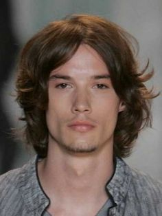 Wavy Lace Front Human Hair Wig For Men