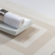 Silvertex placematts Offwhite color