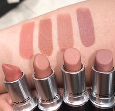 İyi geceler 🍃 💕🌸 Soldan 🍃 Kinda sexy, Yash ,Honeylove ,Really Me✌🏻 Huda Beauty Lipstick, Aesthetic Makeup, Makeup Forever, Everyday Makeup, Sephora, Make Up, Sexy, Instagram, Mac