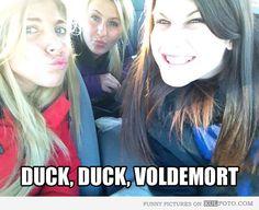 Duck, duck, Voldemort!